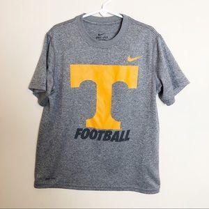 Nike Tennessee Football Dri Fit T-Shirt Boy Small